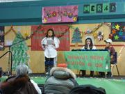 Spectacle de Noel ecole de Qikiqtarjuaq