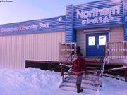 Un des deux magasins de Qikiqtarjuaq