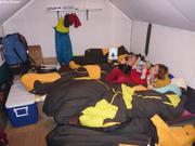 Dans une cabane de Tasialuit