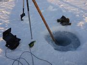 Kit pour ramasser des algues en hiver