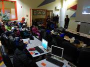 Presentation salle du conseil municipal