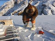 Eric mesure neige et glace pour calibration instrument