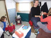 Dans une petite cabane a Tasialuit