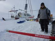 Mojtaba prepare Sea Ice Sounder