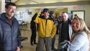 Depart etudiants arrivee Christian Haas