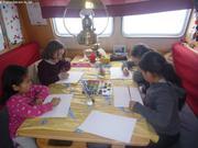 Atelier peinture avec copines