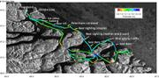Mesure epaisseur banquise 450km avril 2016