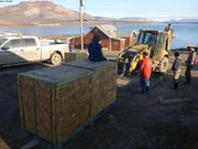 Deplacement de nos 3 caisses de vivres et equipements