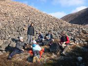Rando et picnic organises par Johan prof de Leonie