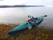 Kayak avec Leonie