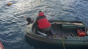 Eric pret a plonger pour installer manip coralline hivernale