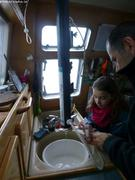 Aurore et Eric prelevements eau
