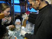 Leonie et Eric traitement echantillons eau