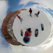 20200519 Vue 360degres au pied des falaises St Georges society ©Aurore Brossier