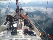 Preparatifs premiere plongee Ilulissat