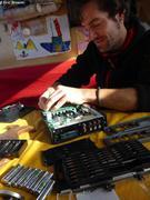 Kevin repare enregistreur arrose