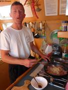 Laurent est aussi cuisinier