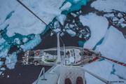 Vagabond dans les glaces