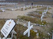 Cimetiere Aningaatalik site hivernage Vagabond