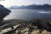 Mouillage fiord Tingin