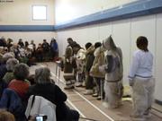 Defile mode inuit pour touristes Grise Fiord