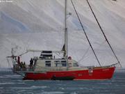 Jeune glace fjord Cap Sud