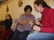 Peepeelee explique fabrication moufle peau de phoque