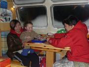 Aurore avec Lisa et Jason