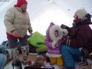 Dans la tente de Liza