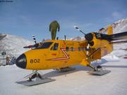 Avion Forces Canadiennes escale Grise Fiord