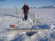 Trou de phoque pour enregistreur salinite temperature