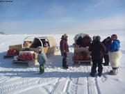 Regroupement a Grise Fiord pour Fishing Derby