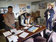 Arctic College bureau de Jimmy Qaapik