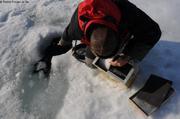 Mesure profondeur dans trou de phoque