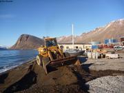 Preparation emplacement pour Vagabond a Grise Fiord