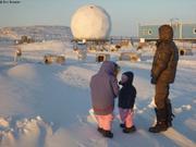 Visite aux chiens d Iqaluit