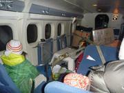 Dans l'avion pour Grise Fiord