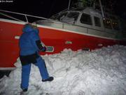 France accumule de la neige pour isoler