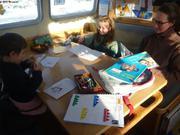 Ecole francaise a bord