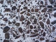 Peu de neige au sol