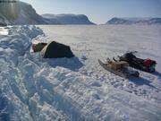 Camping au bord du fjord Grise