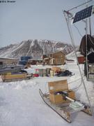 Panneau solaire pour recharger batterie glaciometre