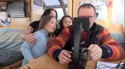 Observing plankton with microscope