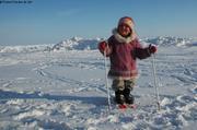 Aurore aime le ski