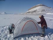 Premier montage nouvelle tente