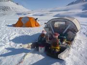 Petit dej camping