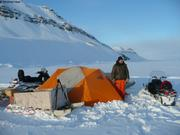 Campement proche site hivernage Vagabond 2011-12