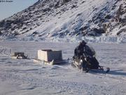 Christian glaciometre fjord Harbour
