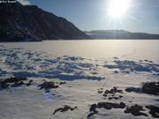 Soleil de minuit fjord Grise