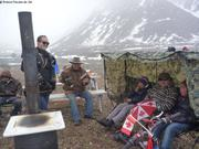 Canada Day sous la neige a Grise Fiord